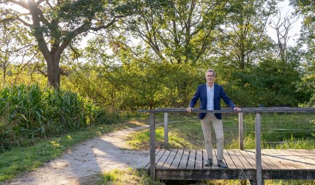 Dit is watergraaf Stefan Kuks. Hij is  woensdag aanwezig in De Stiftsschool in Weerselo. Foto: Paulien Wilkinson