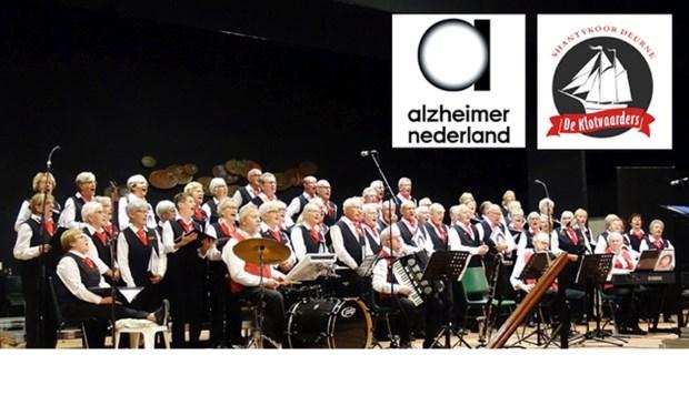 Het grootste shantykoor van Nederland, De Klotvaarders uit Deurne, geeft zaterdag een benefietconcert.