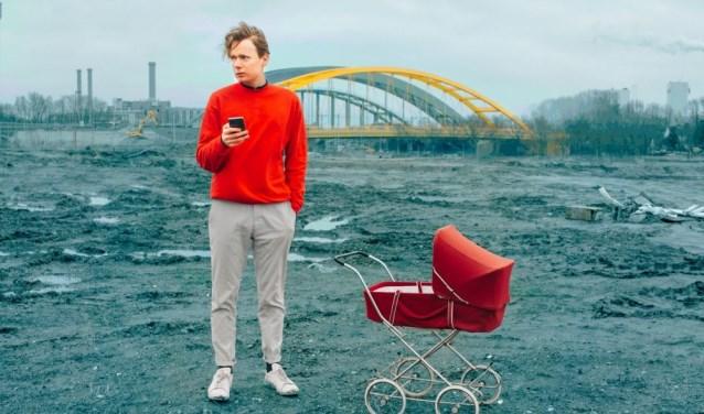 Theatergroep de Trans/missie brengt de voorstelling De mythe van Leidsche Rijn.