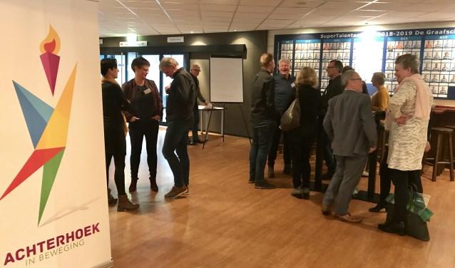 Ideeën werden uitgewisseld tijdens de bijeenkomst Achterhoek onderweg naar vernieuwd regionaal sportakkoord