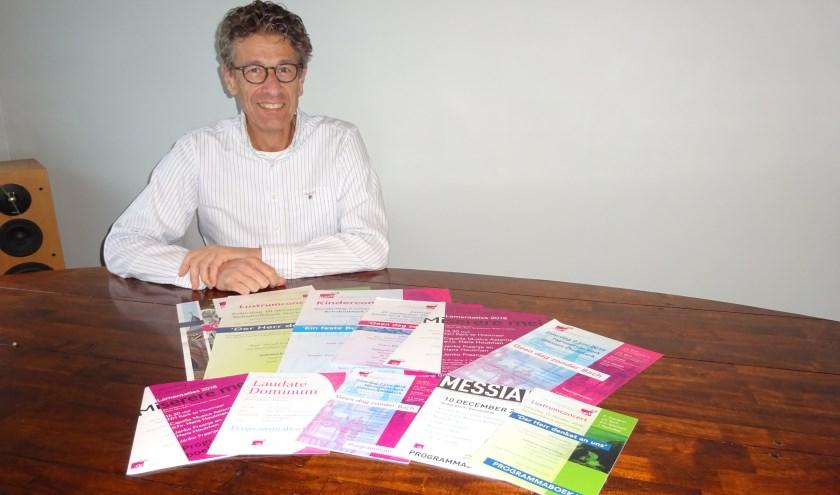 Arco Bevelander uit Hardinxveld-Giessendam is secretaris bij de stichting. (Foto: Eline Lohman)