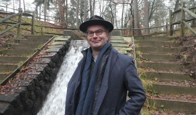 Rienk Kuiper van Water Natuurlijk bij de grote Waterval in Loenen