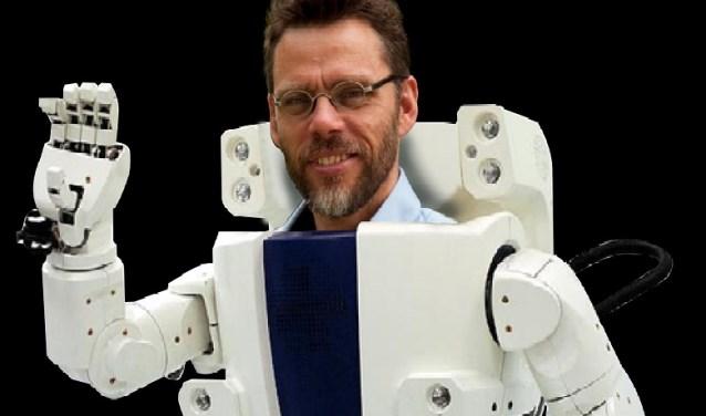 Erwin de Vugt verzorgt donderdag 14 februari op Buitenplaats Ockenburgh een lezing over robots in de zorg en thuis.