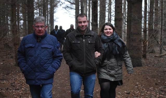 Deelnemers aan de laatste winterwandeling hebben de keuze uit vier afstanden. Afbeelding ter illustratie. Foto: Jolien van Gaalen.