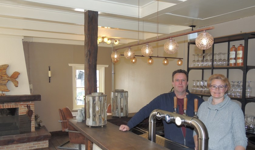 Marjelle Tantner en Steven Westerweel kochten het restaurant en gaan begin maart open.