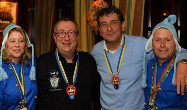 Camiel Bots en Peter de Krom kregen afgelopen weekend de Federatieonderscheiding. Foto: Rob van Gorkum.