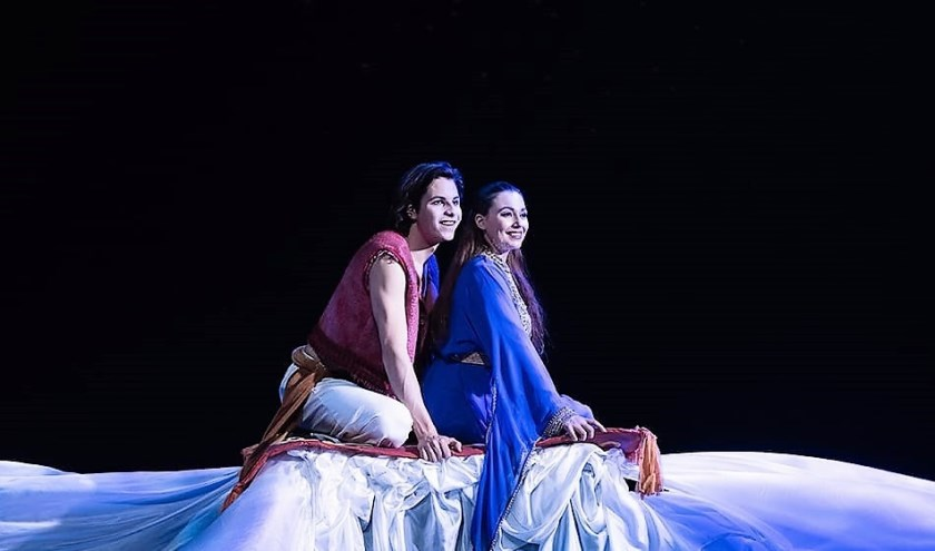 Alisa Opari Luzi, bekend van de musical Aladdin, geeft masterclass bij CVDKS.