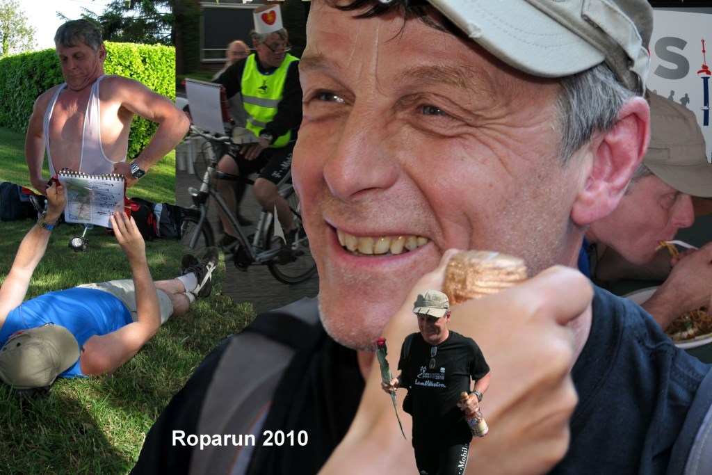 Roparun collage Foto: Ferry © Persgroep
