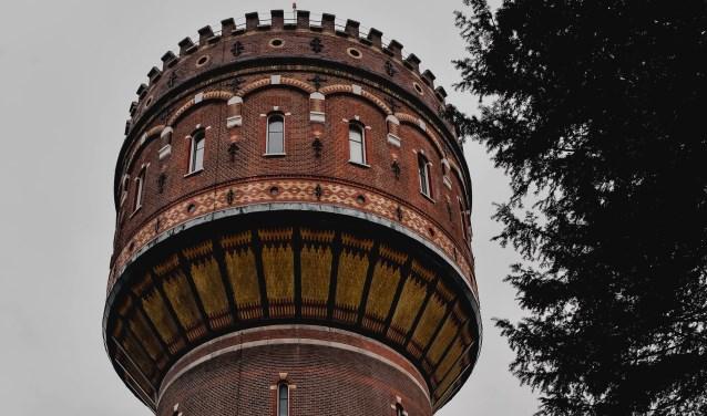 De bovenkant van de Delftse Watertoren (Foto: Justyna van Grootveld).