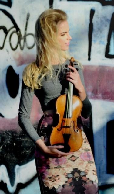 Merel Vercammen treedt op met Joachim Eijlander, cello.vioo