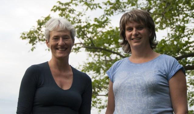 Behandelaren van lijf-Wijs Resi Witteveen en Maaike Oosterheert