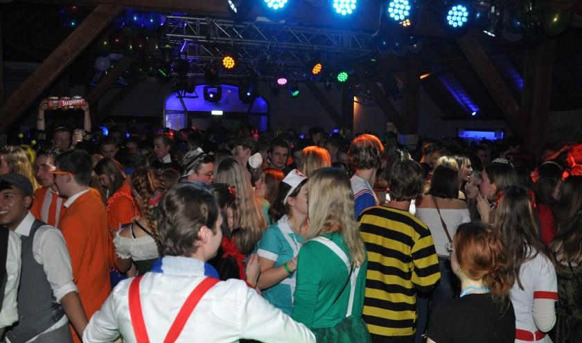 Groot carnavalsfeest op De Hucht