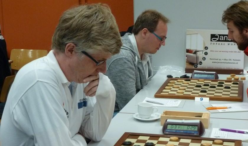 Johan Krajenbrink (l) en Jasper Lemmen