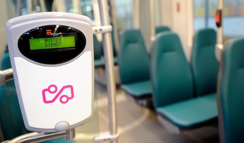 Een tram van de RET © ANP XTRA