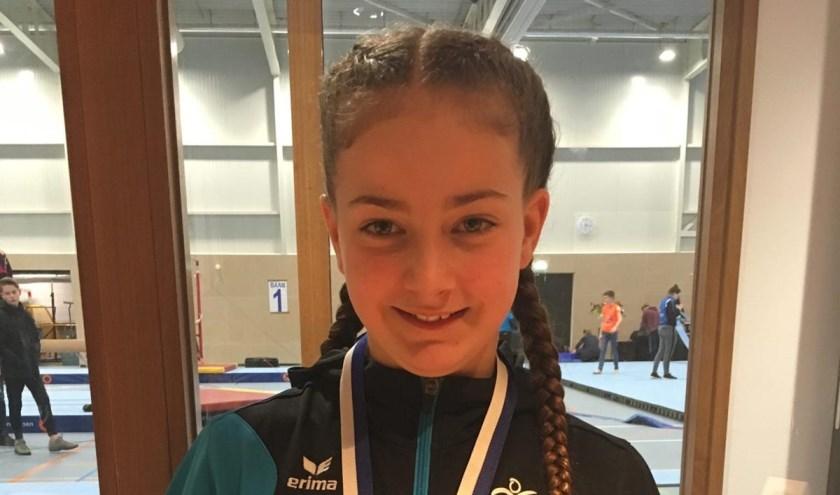 Senne Groenendijk behaalde een zilveren medaille.