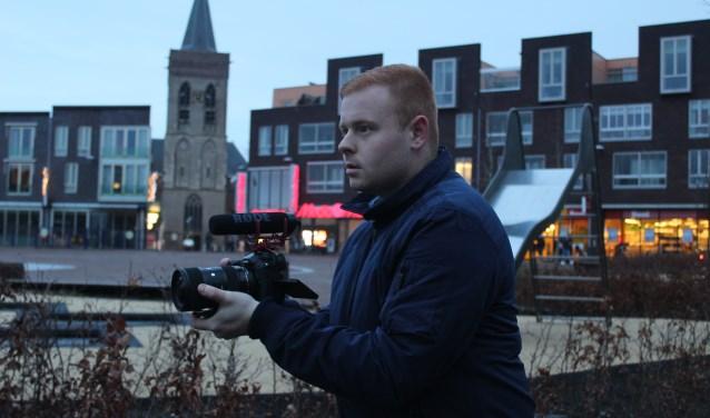 Op de foto hierboven zie je Ronald Vermeulen in actie. (Foto: @hajaressaphotography)