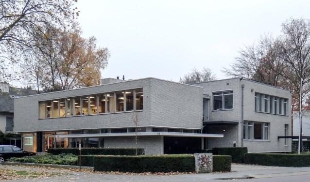 Het pand waar architect Jan Mulders in 1962 ging wonen en werken, hij was toen 44 jaar oud.
