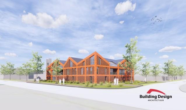 Het winnende ontwerp van Building Design.