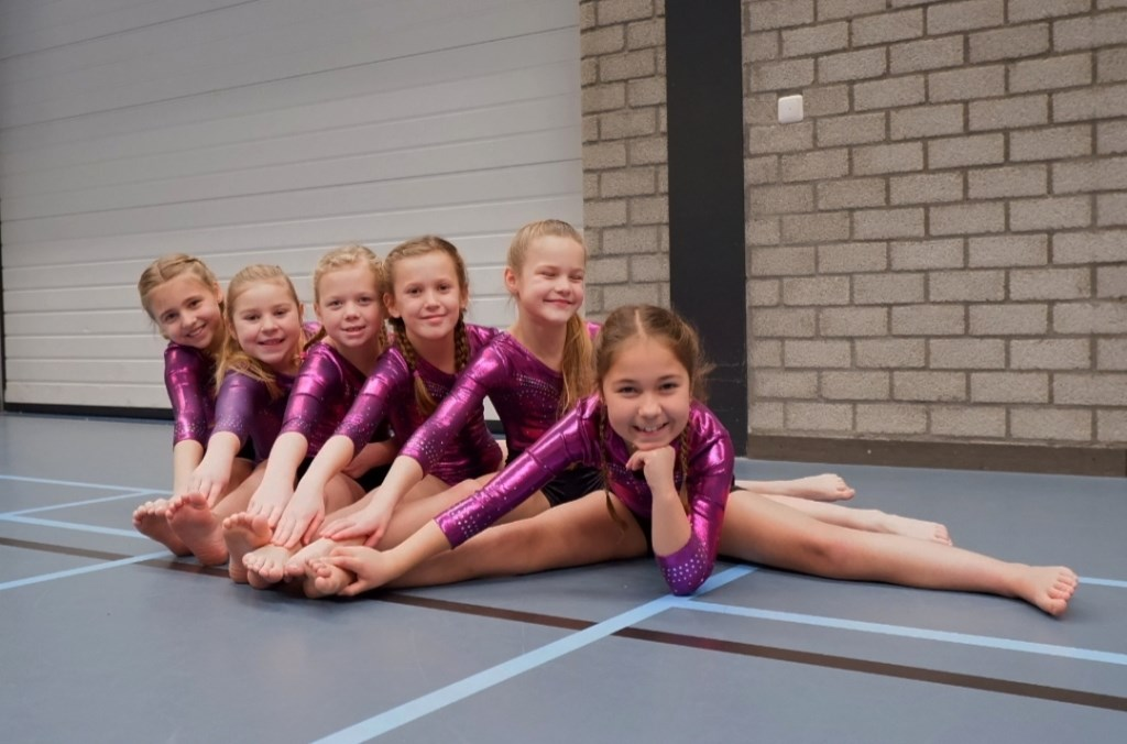 Bo, Dorinda, Imke, Maartje, Kiek en Esmée. Foto: M.C. van Verseveld © Persgroep