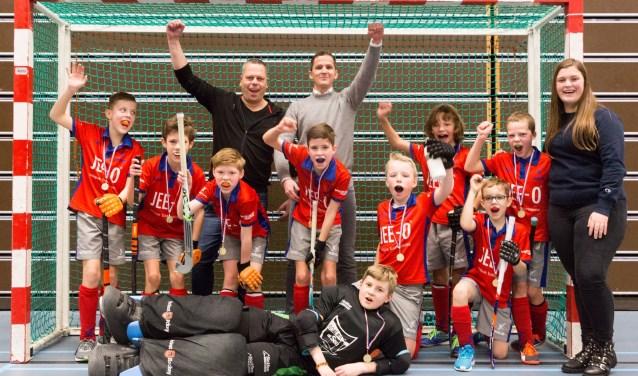 MHCB JD2 zaalhockeykampioen!