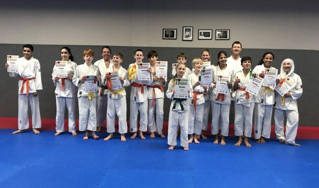 Jeugdgroep karate