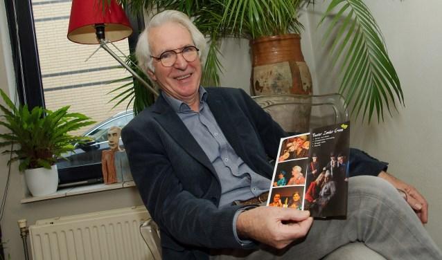 """Om lid van Theater Zonder Grens te kunnen zijn, moet het wel klikken met de groep. Ben Eggermont (73): """"Professionele acteurs hoeven geen vrienden te zijn. Bij ons vormt vriendschap de basis."""" (foto Gert Perdon)"""