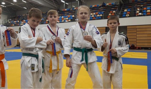enkele van de succesvolle judoka's