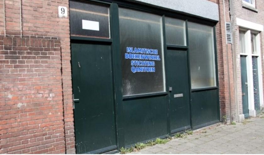 Burgemeester Krikke vroeg voor het eerst in 2017 een gebiedsverbod aan toen Fawaz Jneid in deze 'boekwinkel' in Transvaal een moskee wilde openen.