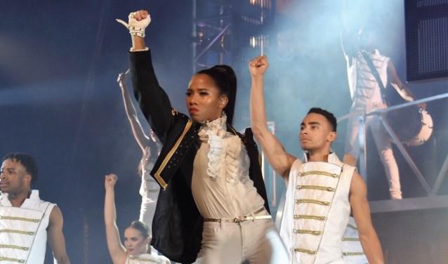 Ina Seidou in Thriller Live. Foto: Mariska Steenbergen