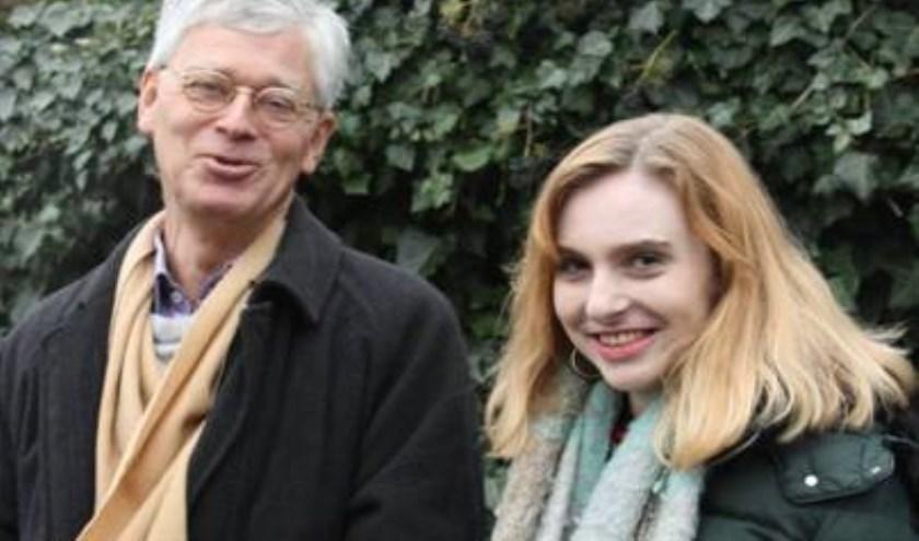 Het huidige PCR-lid Sander van Opstal (links) maakt graag plaats voor Gabriëlle Geerts.