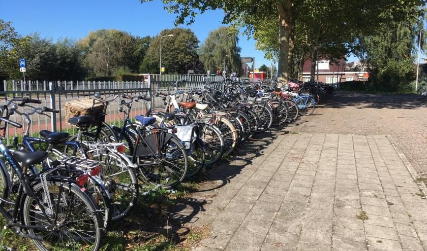 De fietsenstalling bij de Molenwal in Oudewater wordt vernieuwd én uitgebreid.