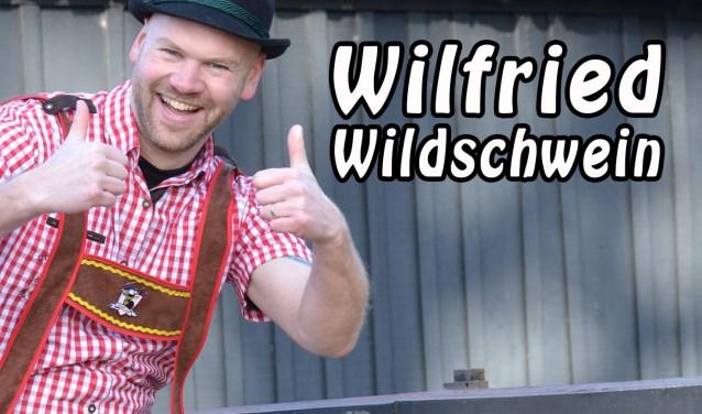 Wilfried Wildschwein uit Haaksbergen heeft een nieuwe single uit.