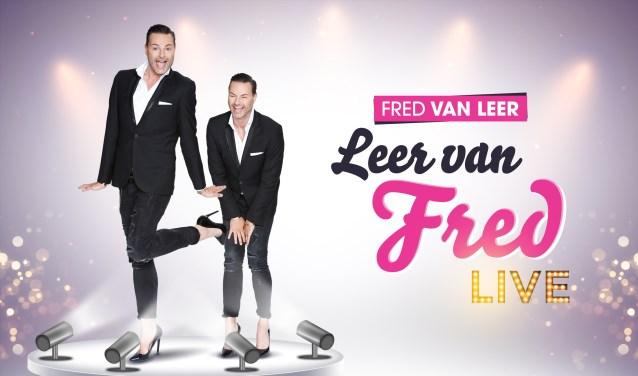 Fred van Leer komt in oktober met zijn succesvolle theatershow naar de Deventer Schouwburg.