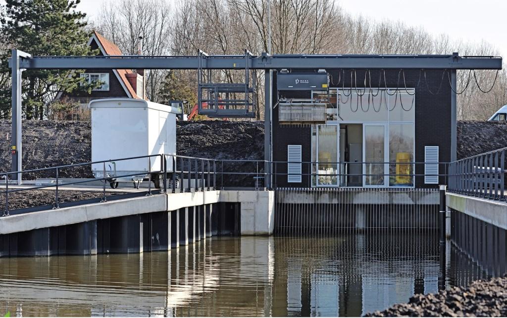 Toon van der Klugt opende onlangs het nieuwe gemaal aan de Bergweg Zuid.   © Persgroep
