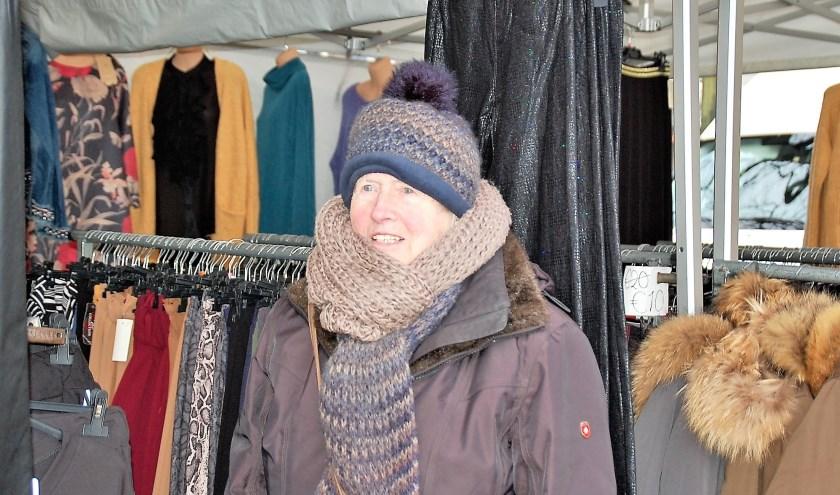 Ook op de Oirschotse weekmarkt is Gerrie Bogers al vele decennia thuis.