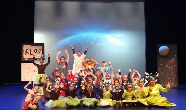 De Zonnekinderen Academy cast Loop naar de maan