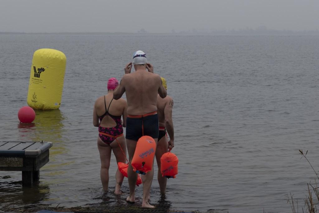 De deelnemers aan de 1000 meter. Foto: Karin Reine © Persgroep