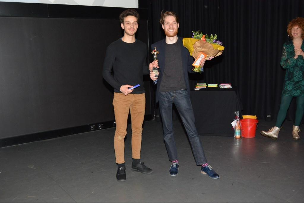 De winnaars in de categorie 18+.   © Persgroep