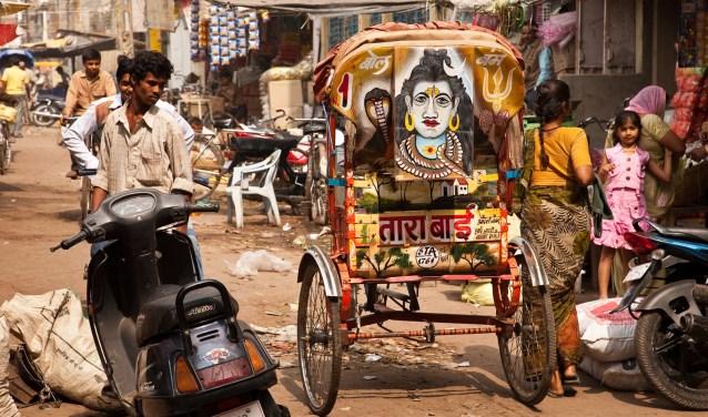 India, een indruk. Foto: Henny Looren de Jong.