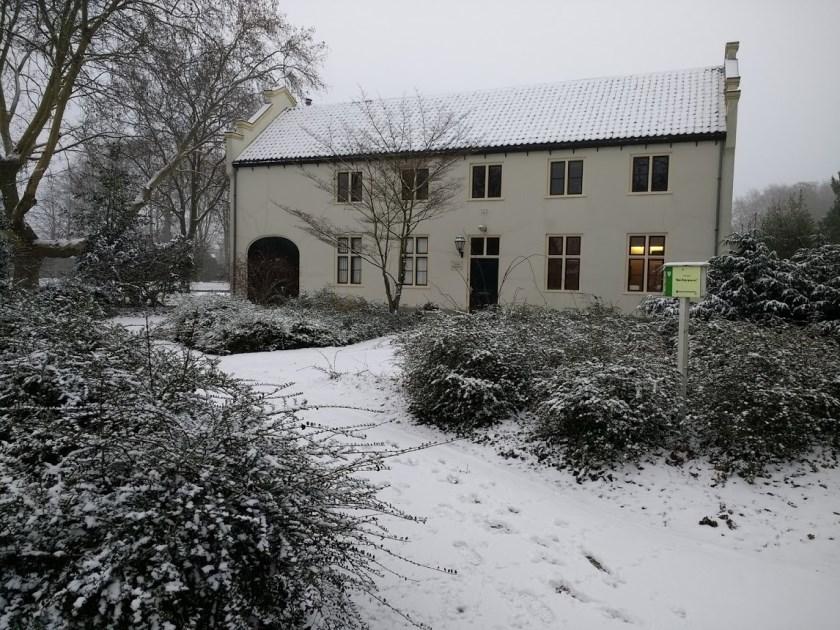 't Koetshuis in winterse sferen