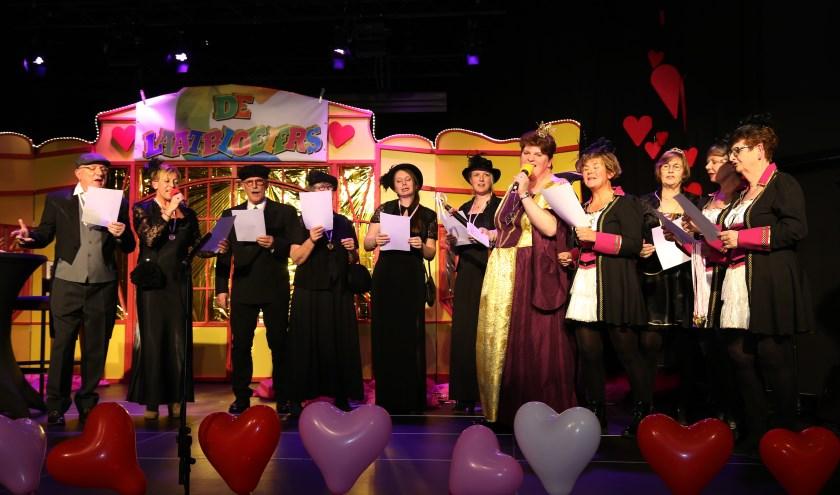 Het was feest in Catharinahof. (foto Marco van den Broek)