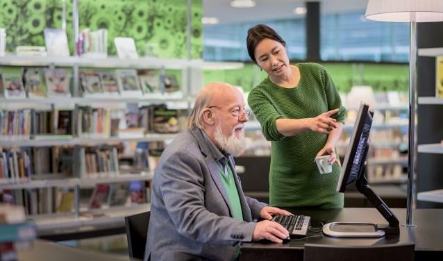 Bibliotheek biedt weer hulp bij belastingzaken. (foto: Stijn Ghijsen)