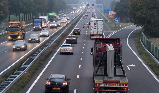 Verkeer op de A2. Foto: Theo van Sambeek (archief)