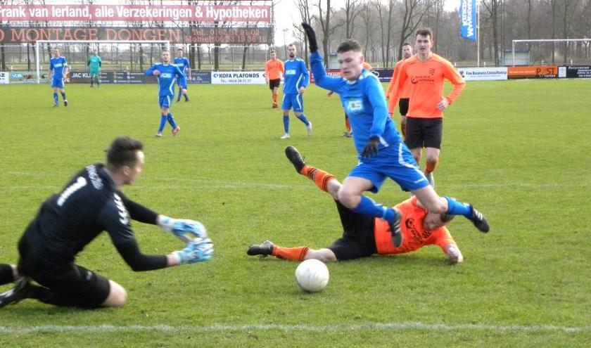 SV Capelle speelde zaterdag tegen de nummer 4 van 3D HSSC61 uit Hei- en Boeicop