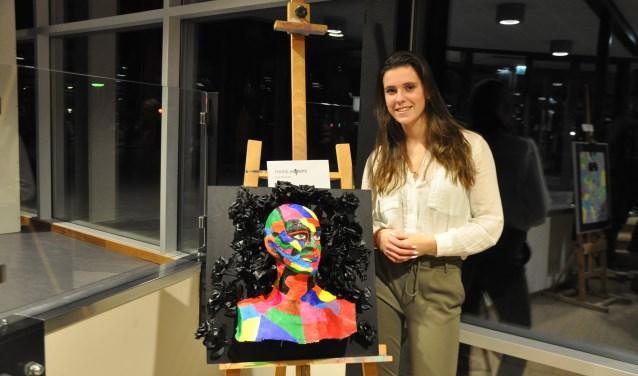 Puk Nouwen mag haar werk exposeren tijdens de komende Kunstschouw, 15 t/m 23 juni 2019.
