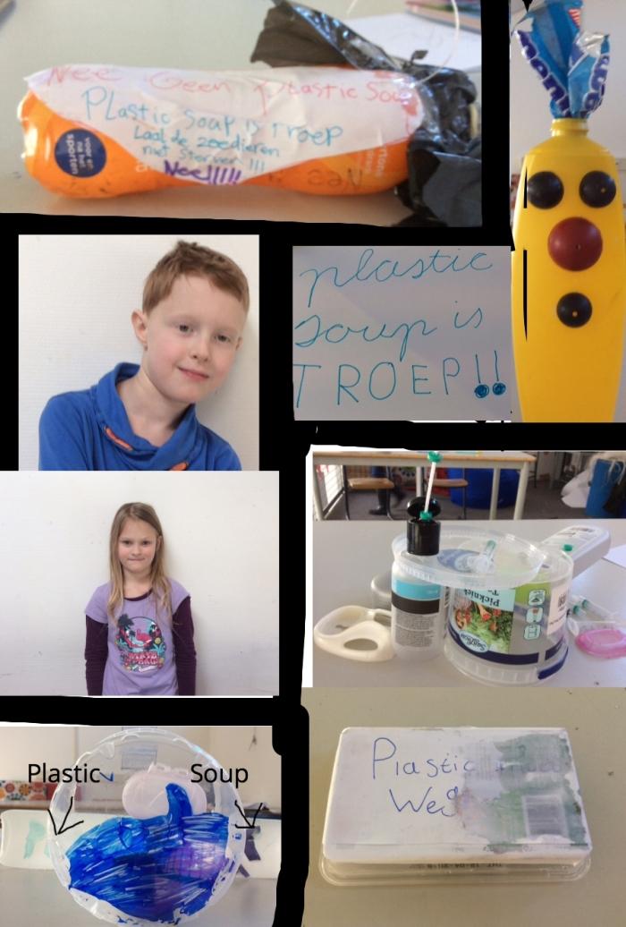 Een impressie van het project van David en Noa. (Foto: Agnietenschool)