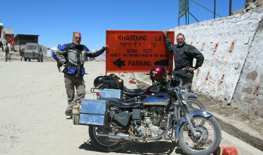 Kees Terlouw komt vertellen over zijn motorreis naar de Pakistaanse Himalaya. (foto: Kees Terlouw)