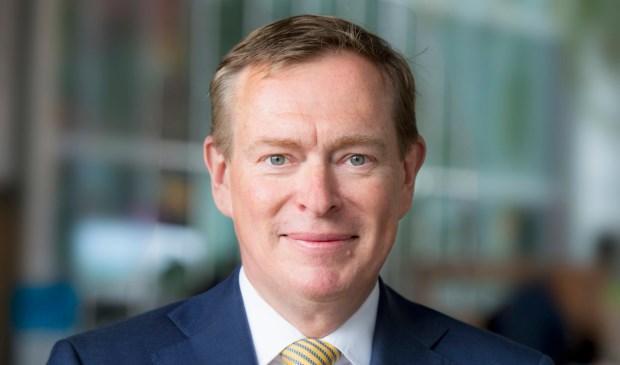 Bruno Bruins, minister voor Medische Zorg en Sport van het ministerie van Volksgezondheid, Welzijn en Sport