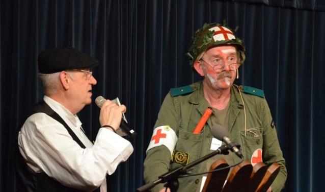 Ciske tijdens de eerste editie in 2012 samen met toenmalig presentator Hans Eikemans.