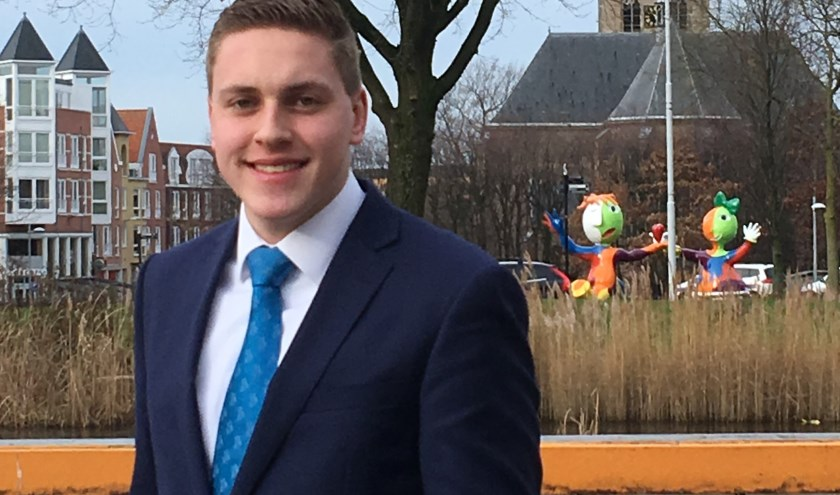 Johannes van der Poel, kandidaat Waterschap, wil met samen met gemeente de hittestress aanpakken.